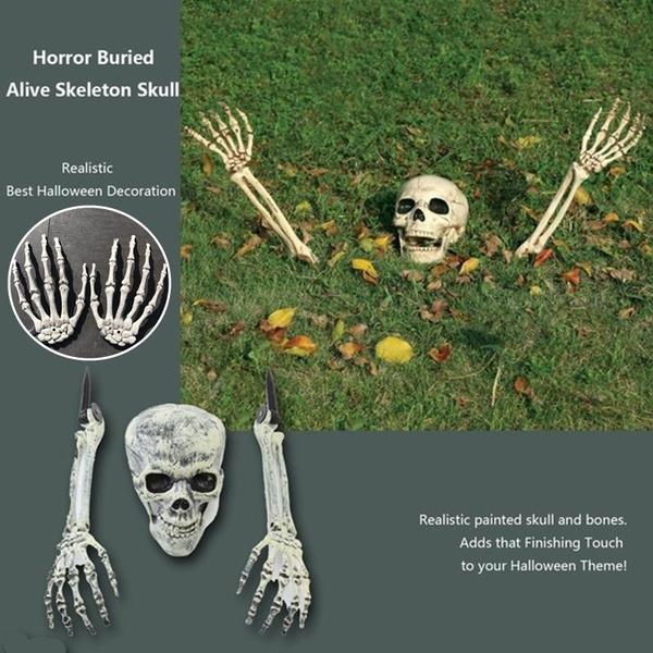 Buried-Alive Skull