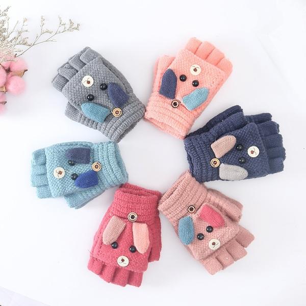 Baby, warmglove, Winter, knittedglove