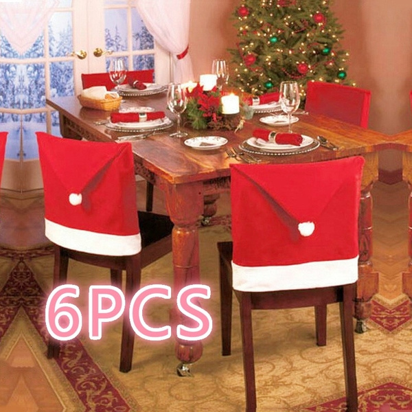chaircover, dinnerchairset, Christmas, Decor