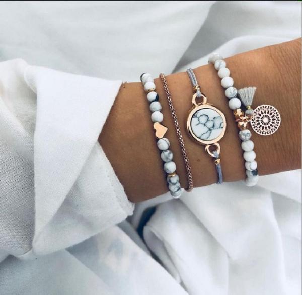 Charm Bracelet, christmasaccessorie, Tassels, Jewelry