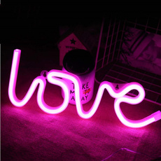 Love, lloveyou, Tables, lights