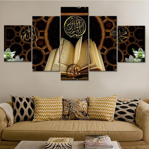 Decor, unframed, room, islamic