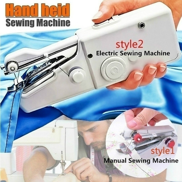 Mini, Home Supplies, handheldsewingmachine, Electric