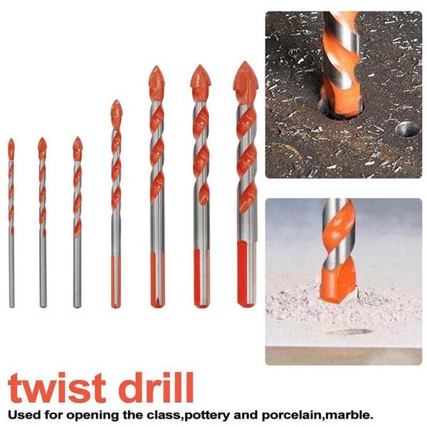 ceramicwalldrill, handdrill, Glass, drillsbit