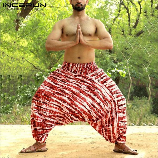 Yoga, thaipant, men trousers, pants