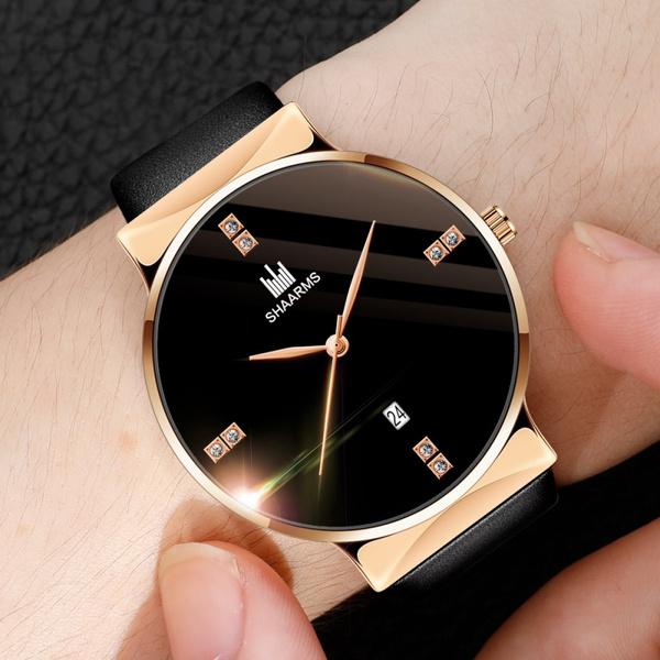 DIAMOND, gold, Watch, relojhombre
