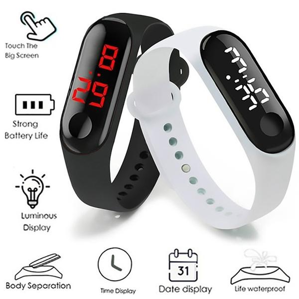 Touch Screen, Fashion, led, Bracelet Watch