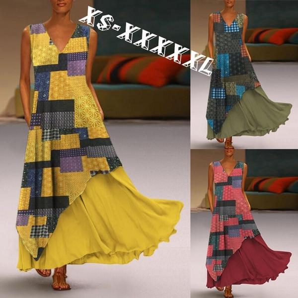 Summer, womenfloralprintdre, tunic, elegantwomendre