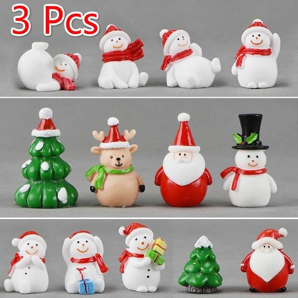 Decor, Garden, snowmancraft, Santa Claus