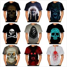 Summer, Fashion, skull, skulltshirt