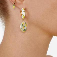 Fashion, lemon, Jewelry, Geometry