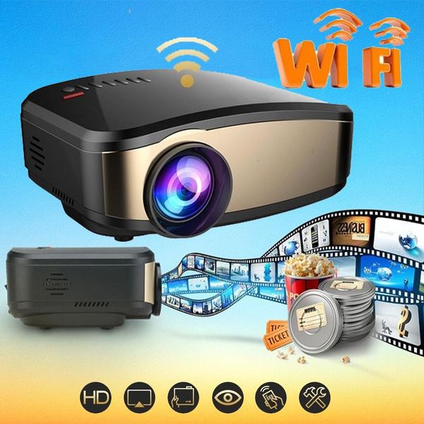 Mini, Outdoor, projector, Hdmi
