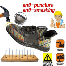 toolingshoe, safetyshoe, Sneakers, Plus Size