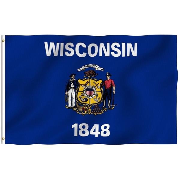 Brass, Polyester, stateflag, uv