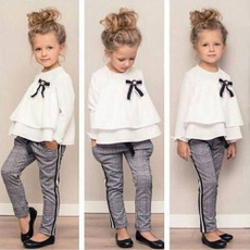 Toddler, long sleeve blouse, Long sleeve top, pants
