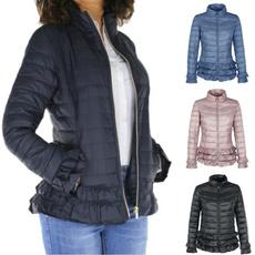 padded, Fashion, ruffle, Winter