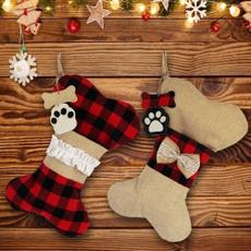 Moda, burlap, Christmas, paw
