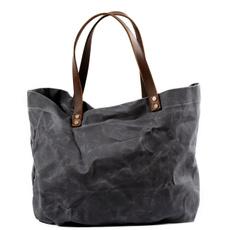 waterproof bag, oilwaxcanva, Capacity, Totes