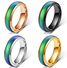 Couple Rings, Steel, Jewelry, Gifts