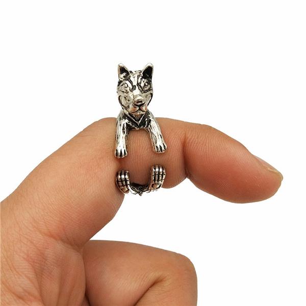Chic, men_rings, dropshiptrendyvintageadjustable3dring, Jewelry