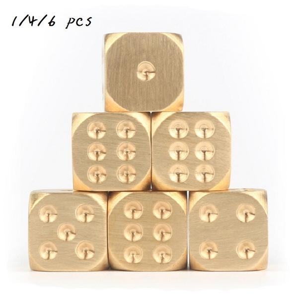 Brass, Copper, brassdice, Dice