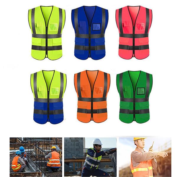 Vest, Outdoor, workmenvest, lights