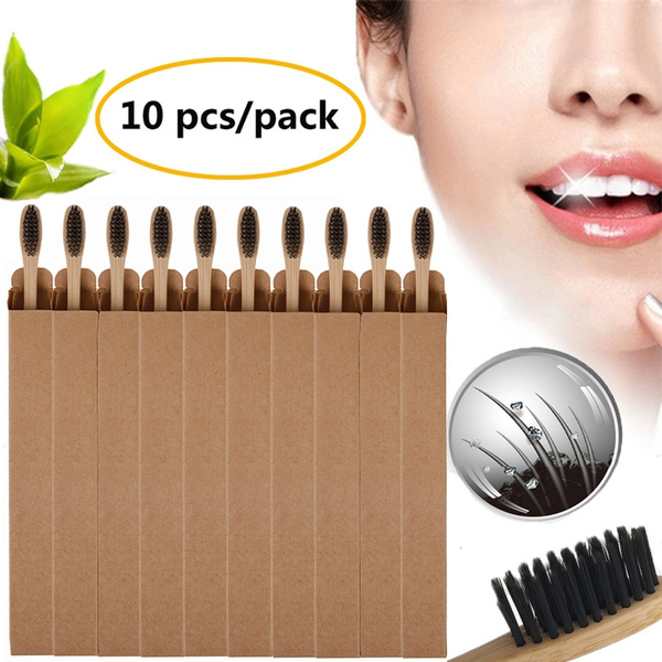 Charcoal, dentalcare, Wooden, Travel