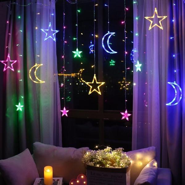 led, Neon, ledcurtainlight, decoration