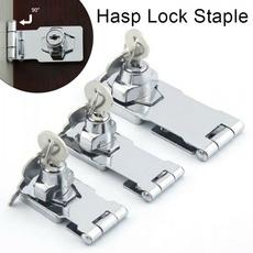 Steel, hasplockstaple, Keys, Door