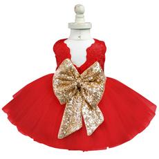 sleeveless, girls dress, Encaje, tulle