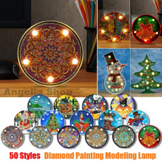 diamondpaintinglight, DIAMOND, Night Light, Interior Design