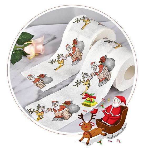Decor, Christmas, Home & Living, toiletpaperchristma