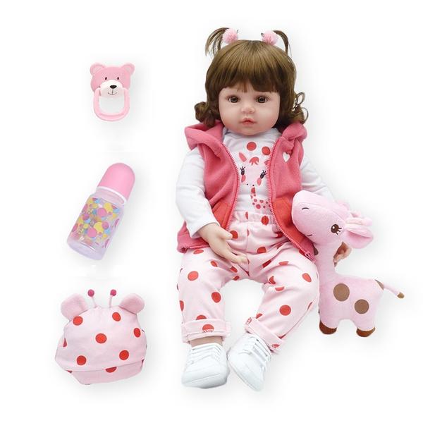 boneca, cute, Toddler, dolltoy