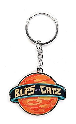 Art Supplies, Key Chain, rickandmortyblipsandchitz, officiallylicensedartworkkeychain