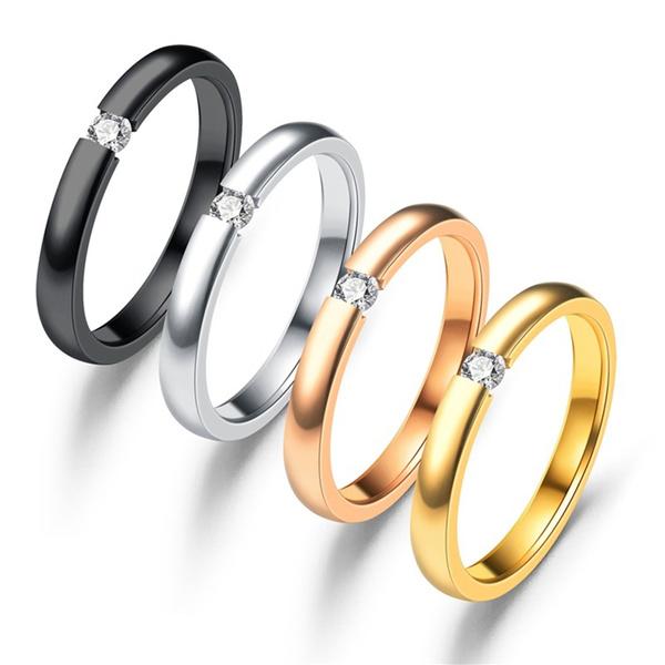 Couple Rings, Steel, weightlo, Jewelry