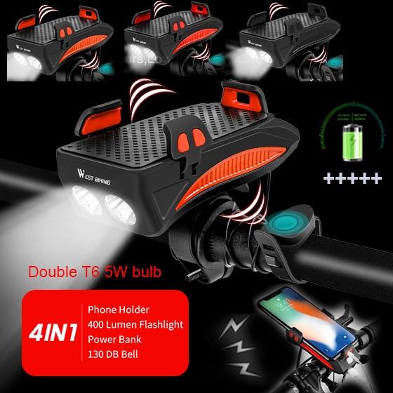 Rechargeable, bikephoneholder, Mobile Phones, rechargerableflashlight