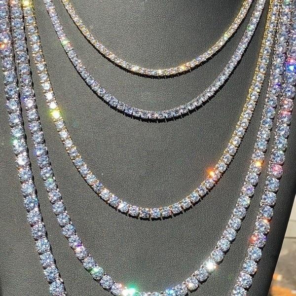 Chain Necklace, DIAMOND, Jewelry, Chain