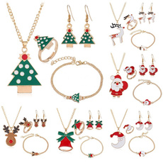 Christmas, Bell, Jewelry, Bracelet