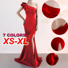 Women's Fashion, gowns, evening, one-shoulder