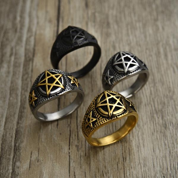 ringsformen, Goth, Fashion, Star