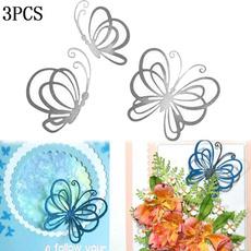 craftmaker, forcardmaking, Butterflies, Metal