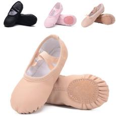 Ballet, Yoga, Elastic, Womens Shoes
