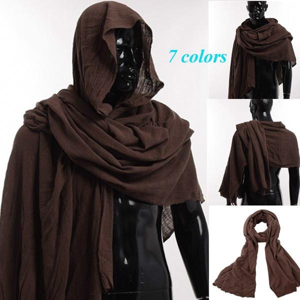 hooded, Medieval, shouldercowl, Cosplay Costume