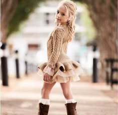girlsweater, Fashion, pullover sweater, Long Sleeve