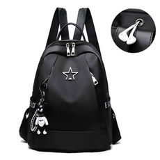 travel backpack, student backpacks, black backpack, ladiesoxfordbackpack