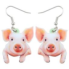 earringsforkid, cute, Fashion, pigaccessorie