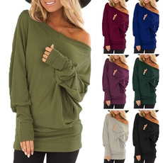 Plus Size, Cotton Shirt, Sleeve, long sleeved shirt
