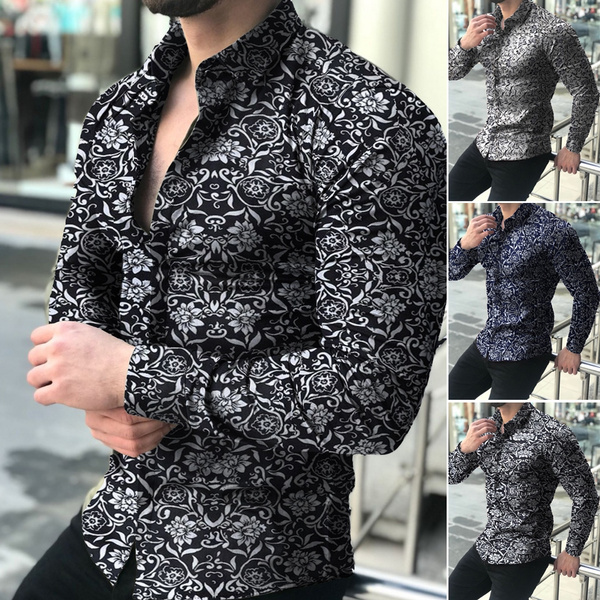 shirtsformenlongsleeve, Fashion, flowershirtformen, long sleeved shirt