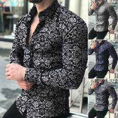 shirtsformenlongsleeve, Fashion, flowershirtformen, long sleeved shirt