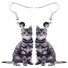 kids, catgift, earringsblack, earringsforgirl
